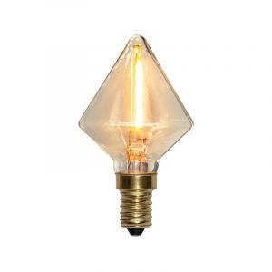 Dimmbare E14 LED Lampe Jordy, 0,8w Extra gemütlich Weiß IP44
