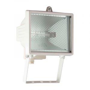 Weiße Scheinwerfer Jazlinn, Metall, IP44