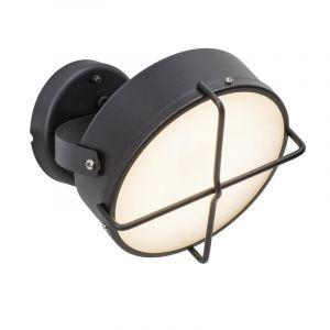 Ländliche Außen Wandleuchte Jaylien, anthrazit, Kunststoff, 10w Warmweiß integriert LED