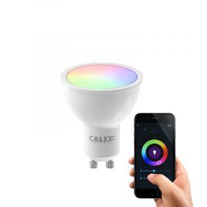 White Calex LED Smart Reflektor Lampe, GU10, 5W, RGBW (alle Farben +Weiß), dimmbar
