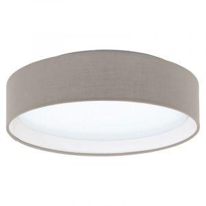 Taupe Deckenleuchte Violette, Stoff, 12w Warmweiß integriert LED