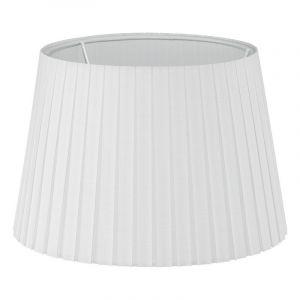 Weiße Lampenschirm Noah, Stoff, klassisch