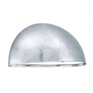 Silberne Außen Wandleuchte Hala, Kunststoff, design, IP23