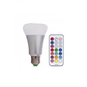 Dimmbare E27 LED Lampe RGB, 10w RGB (Alle Farben)