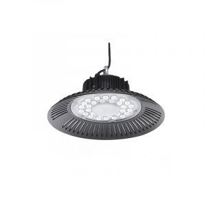 Highbay Lampe Akmaar, Aluminium, transparent, 100w KaltWeiß integriert LED