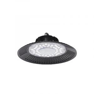 Highbay Lampe Akmaar, Aluminium, transparent, 150w KaltWeiß integriert LED