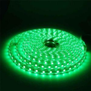 1 Meter 220V LED Strip, grün, IP65
