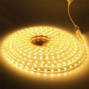 1 Meter 220V LED Strip, gelb, IP65
