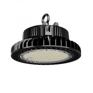 Schwarze Highbay Lampe Pro Destil, Metall, 100w Weiß integriert LED