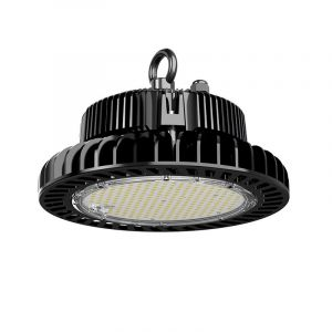 Schwarze Highbay Lampe Pro Destil, Metall, 120w Weiß integriert LED