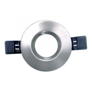 Moderne Badezimmer Einbaustrahler Klaas, chrom, Aluminium, IP65