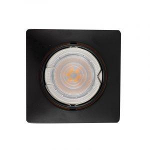 Metall Einbaustrahler Filo, schwarz