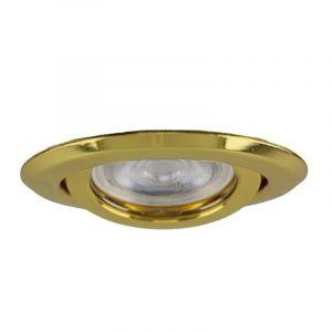 Aluminium Einbaustrahler Ando, gold