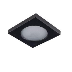 Moderne Badezimmer Einbaustrahler Elio, Aluminium, schwarz, IP44