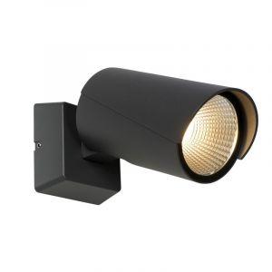 Anthrazit moderne Erdspießleuchte Manal, Aluminium, 12w Warmweiß integriert LED