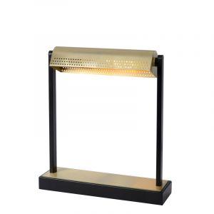 Schwarze Schreibtischleuchte Laut, Stahl, vintage, Mit Schalter