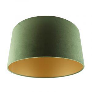 Grüne Lampenschirm Melanie, Stoff, modern