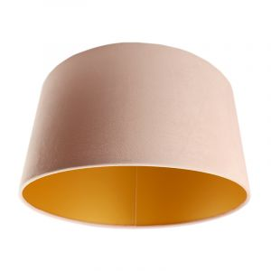 Pink Lampenschirm Melanie, Stoff, modern