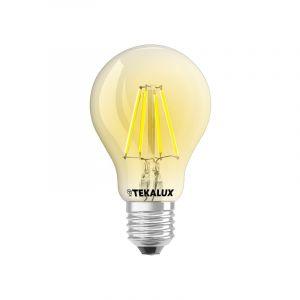Dimmbare Tekalux Yona E27 A60 LED Lichtquelle, 2700k, 5w