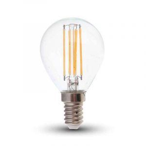 Tekalux Sorna E14 LED Filament Kugellampe, 3,5w Warmweiß, dimmbar