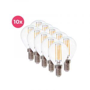 10er-Pack Dimmbare Tekalux Sorna E14 LED-Lampe, 2700k, 3,5w
