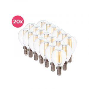 20er-Pack Dimmbare Tekalux Sorna E14 LED-Lampe, 2700k, 3,5w