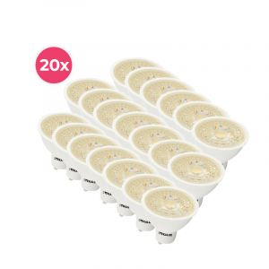20er Pack Dimmbare weiße GU10 LED-Lampe Antonie, 5 W, warmweiß