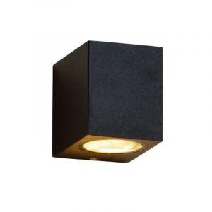 Moderne Außen Wandleuchte Corella, Aluminium, schwarz, IP44