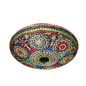 Orientalische Deckenleuchte Louay, Mosaik, multicolour
