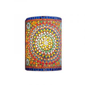 Orientalische Wandleuchte Mahdia, Mosaik, multicolour