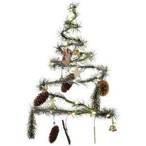 Hängender Weihnachtsbaum mit 40 LEDs und Weihnachtsdekoration