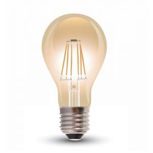 Tekalux E27 Filament Lichtquelle Jorick, 4w Extra gemütlich Weiß