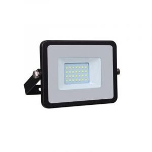 Schwarze Scheinwerfer Dunco 4, Aluminium, 20w Warmweiß integriert LED