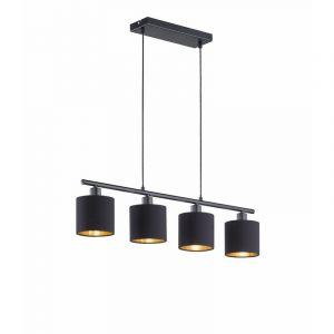 Moderne Pendelleuchte hanglamp, Metall, schwarz