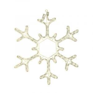 LED Schneeflocke - 53 cm