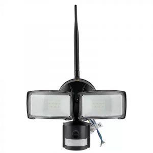 Schwarze Scheinwerfer Leone, Polyester, 18w 6000K (KaltWeiß) LED