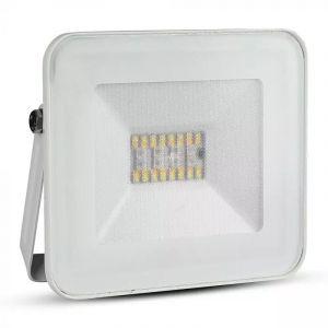 Weiße Scheinwerfer Leander, Aluminium, moderne, mit einstellbarer Lichtfarbe