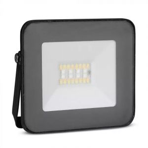 Schwarze Scheinwerfer Leander, Aluminium, moderne, mit einstellbarer Lichtfarbe