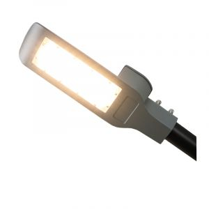Tekalux LED Straßenbeleuchtung Zola, 50 Watt, 3000k warmweiß, 2 Jahre Garantie
