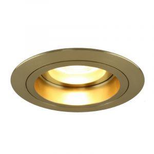 Moderne Einbaustrahler Bredal, Metall, gold