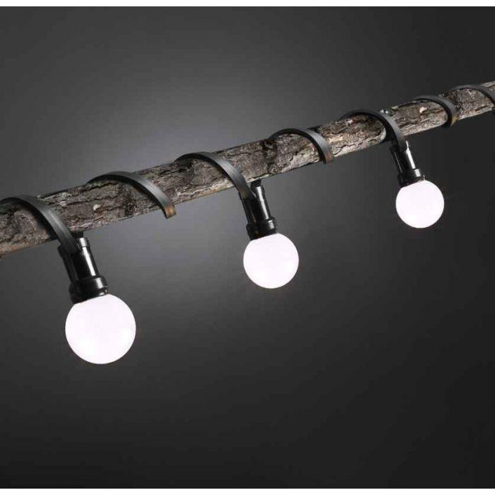 5m Lichterkette, 5 Fassungen
