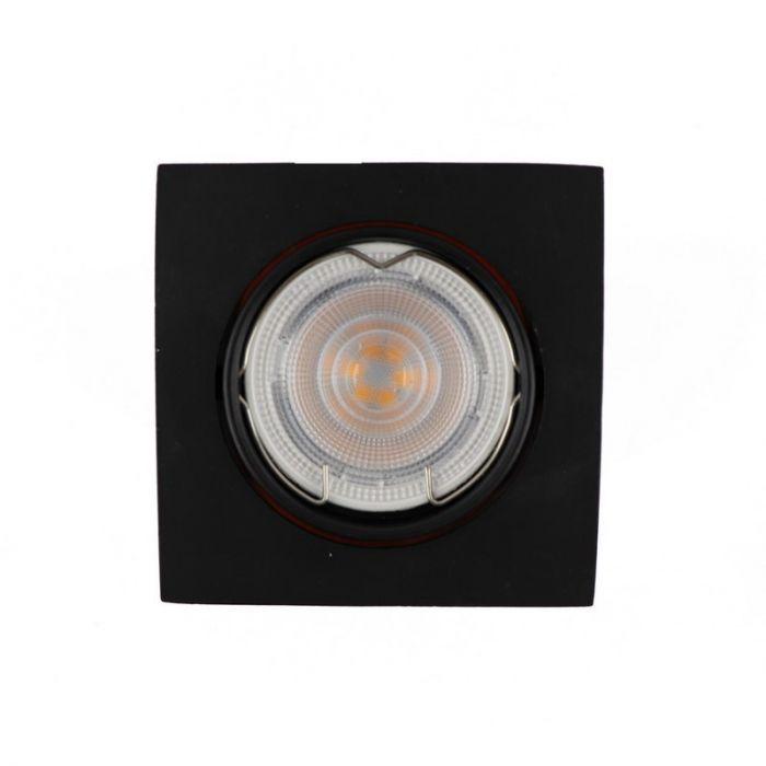 Aluminium Einbaustrahler Ravi, schwarz